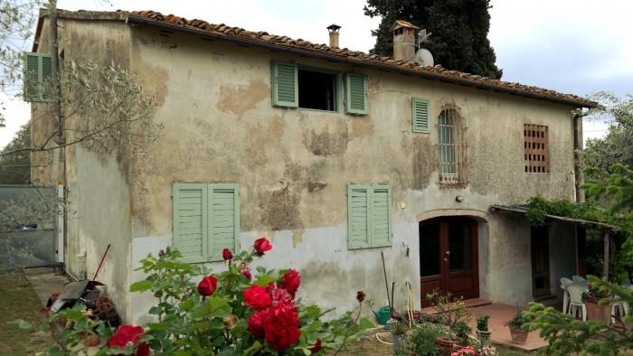 Casale in vendita a montespertoli poppiano e le colline for Case in vendita montespertoli