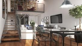 Appartamento Loft vendita Firenze Porta al Prato con posto auto