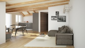 Appartamento attico 6 vani in vendita a Firenze Soffiano