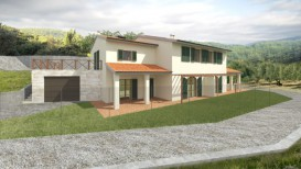 Villetta vendita Firenze ristrutturata in classe A