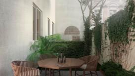 Firenze vendita appartamento 4 vani ristrutturato con giardino